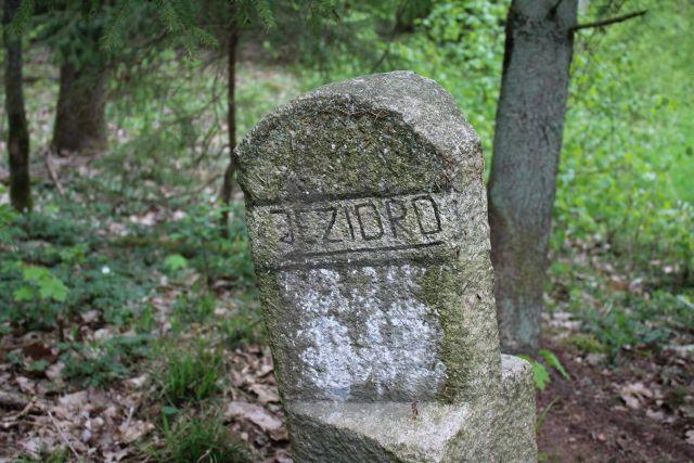 Kamień drogowy w Kiełpinach (gm. Lidzbark)